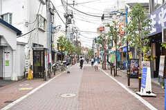東急多摩川線・矢口渡駅前の商店街。(2016-07-08,共用部,ENVIRONMENT,1F)