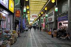 シェアハウスから各線・蒲田駅へ向かう道の途中にある商店街の様子。(2014-04-24,共用部,ENVIRONMENT,1F)