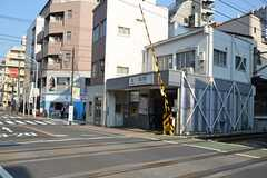 東急池上線・蓮沼駅の様子。(2014-04-24,共用部,ENVIRONMENT,1F)