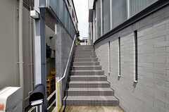 階段の様子。(2010-08-10,共用部,OTHER,1F)