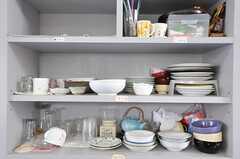 食器棚の様子。(2010-08-10,共用部,OTHER,2F)
