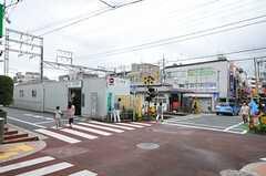 東急池上線・久が原駅の様子。(2010-08-10,共用部,ENVIRONMENT,1F)