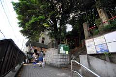 JR京浜東北線大森駅付近の様子。(2010-06-15,共用部,OTHER,1F)