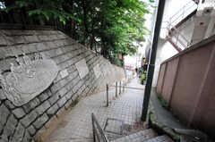 JR京浜東北線大森駅付近にある長い階段。(2010-06-15,共用部,OTHER,1F)