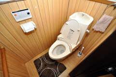 トイレの様子。(2010-03-16,共用部,TOILET,1F)