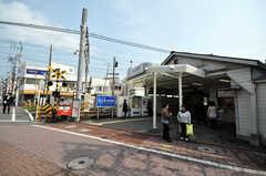 東急多摩川線矢口渡駅の様子。(2010-03-16,共用部,ENVIRONMENT,1F)