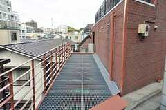 自転車置き場の様子。(2009-09-23,共用部,GARAGE,2F)