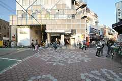 各線・雪が谷大塚駅の様子。(2013-11-05,共用部,ENVIRONMENT,1F)