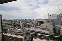 窓から見た外の景色。(726号室)(2013-08-20,専有部,ROOM,7F)