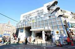 東急池上線・雪が谷大塚駅の様子。(2012-01-31,共用部,ENVIRONMENT,1F)