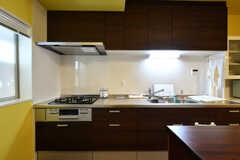 キッチンの様子2。(2021-05-25,共用部,KITCHEN,1F)