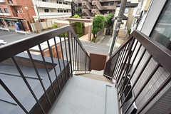 非常階段の様子。(2016-07-13,共用部,OTHER,2F)