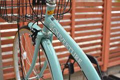 無料で使えるレンタル自転車もあります。(2016-07-13,共用部,GARAGE,1F)