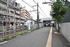 東急多摩川線・沼部駅の様子。(2016-07-13,共用部,ENVIRONMENT,1F)