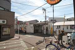 東急池上線・御嶽山駅の様子。(2013-09-09,共用部,ENVIRONMENT,1F)