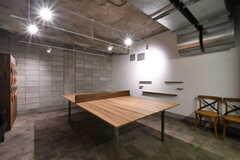 卓球スペースの様子2。(2020-03-23,共用部,OTHER,-1F)