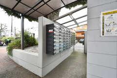 郵便受けの様子。部屋ごとに設置されています。(2020-03-23,共用部,OTHER,1F)