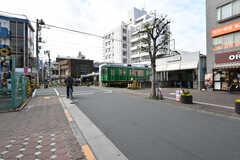 東急多摩川線・下丸子駅の様子。(2019-12-09,共用部,GARAGE,1F)