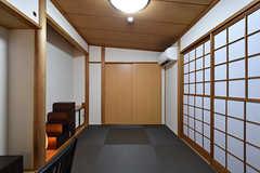 専有部の様子。1階はどちらも和室です。(102号室)(2016-07-12,専有部,ROOM,1F)
