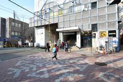 東急池上線・雪が谷大塚駅の様子。(2018-02-27,共用部,ENVIRONMENT,1F)