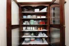 食器棚の様子。(2010-07-08,共用部,OTHER,1F)