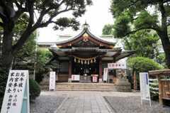 蒲田八幡神社の様子。(2010-07-08,共用部,ENVIRONMENT,1F)