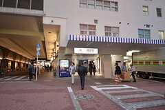 各線・蒲田駅の最寄りの出入口。(2014-10-14,共用部,ENVIRONMENT,1F)