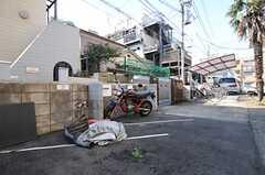 バイクも駐輪できます。(2014-03-24,共用部,GARAGE,1F)