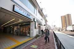 京急空港線・大鳥居駅の様子。(2014-03-24,共用部,ENVIRONMENT,1F)