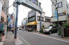 洗足池商店街の様子。(2012-10-17,共用部,ENVIRONMENT,1F)