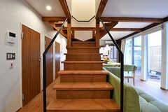 階段の様子。(2017-02-23,共用部,OTHER,1F)