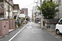 周辺は静かな住宅街です。(2017-02-23,共用部,ENVIRONMENT,1F)