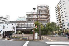 各線・大岡山駅の様子。東急病院が併設されています。(2017-02-23,共用部,ENVIRONMENT,1F)