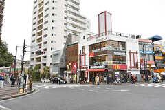 各線・大岡山駅前の様子。(2017-02-23,共用部,ENVIRONMENT,1F)