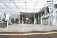 東工大のキャンパスが駅の目の前。カフェなどは一般利用も可能です。(2017-02-23,共用部,ENVIRONMENT,1F)