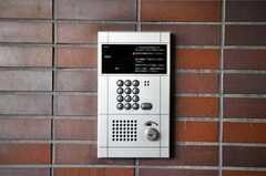 エントランスはオートロックです。(2010-03-03,共用部,OTHER,1F)