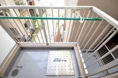 ベランダの様子。(301b号室)(2010-03-03,共用部,OTHER,3F)