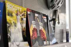 雑誌やパンフレットも置いてあります。(2009-01-20,共用部,OTHER,1F)