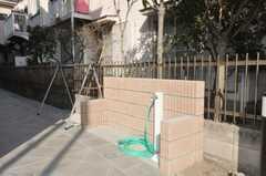 愛車も洗えます。(2009-01-20,共用部,OTHER,1F)