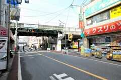 京急六郷土手駅前の様子2。(2009-01-20,共用部,ENVIRONMENT,1F)