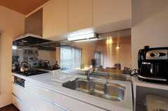 キッチンの様子。(2011-11-17,共用部,KITCHEN,2F)