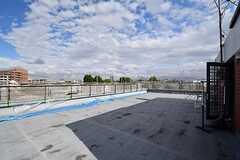 屋上の様子。(2017-06-08,共用部,OTHER,4F)