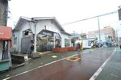 東急池上線・石川台駅の様子。(2016-03-07,共用部,ENVIRONMENT,1F)