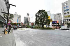 JR・蒲田駅前の様子。(2020-11-02,共用部,ENVIRONMENT,1F)