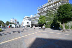 各線・大岡山駅の様子。駅の上は病院が直結しています。(2018-10-22,共用部,ENVIRONMENT,1F)