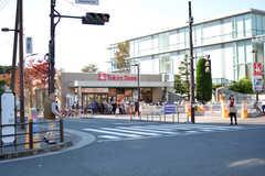 駅の目の前にはスーパーがあります。(2018-10-22,共用部,ENVIRONMENT,1F)