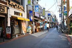 駅前の商店街の様子(2018-10-22,共用部,ENVIRONMENT,1F)