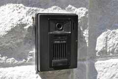 カメラ付きインターホンの様子。(2010-03-26,共用部,OTHER,1F)