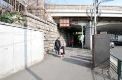 都営浅草線・馬込駅の様子。(2012-03-20,共用部,ENVIRONMENT,1F)