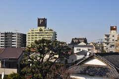 屋上からの景色はP。(2012-03-27,共用部,OTHER,4F)